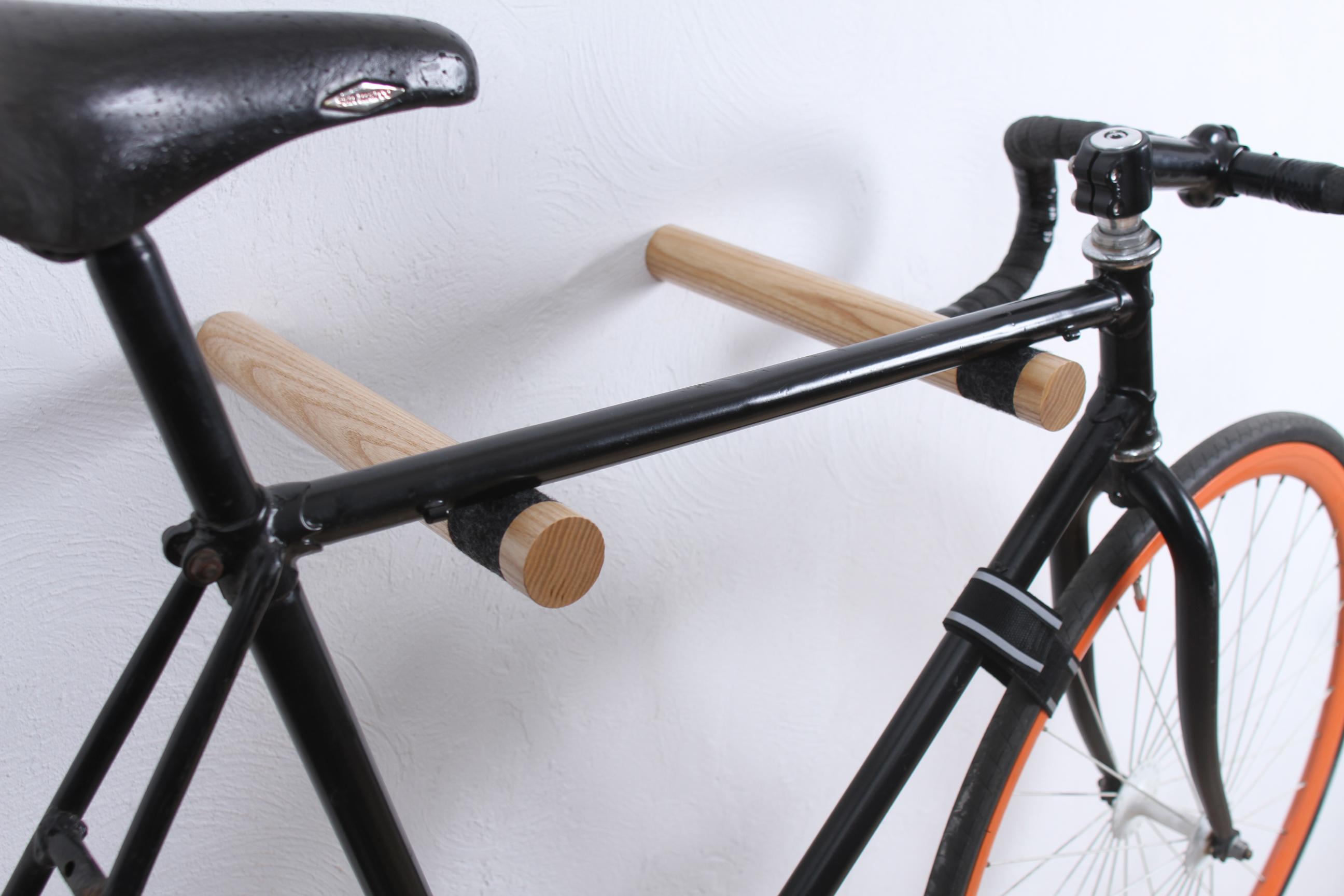 Copenhagen Wooden Bike Rack Natural Twonee